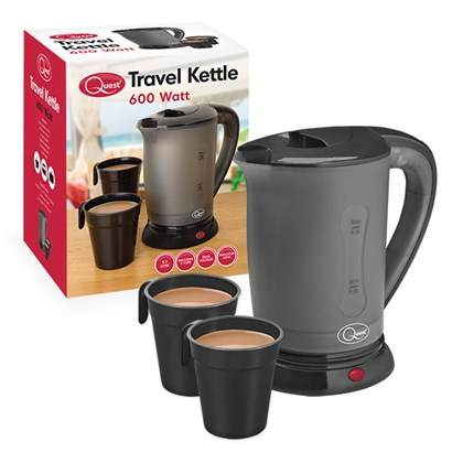 0.5L Travel Kettle - Black