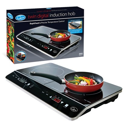 Twin Digital Induction Hob