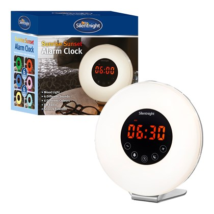 Silentnight - Sunrise/Sunset Alarm Clock