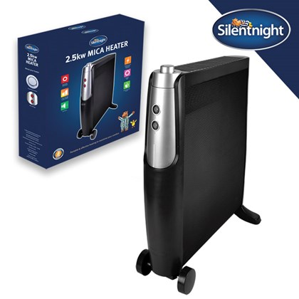 2.5Kw Mica Heater - Silent Night