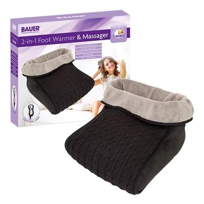Bauer Foot Warmer & Massager - Black