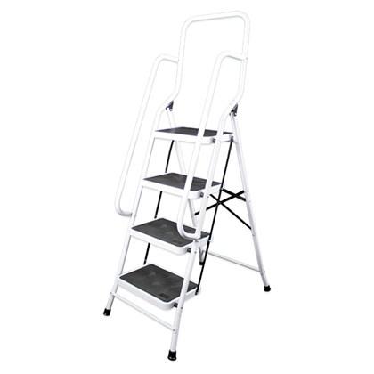 4 Step Ladder W/Safety Handles