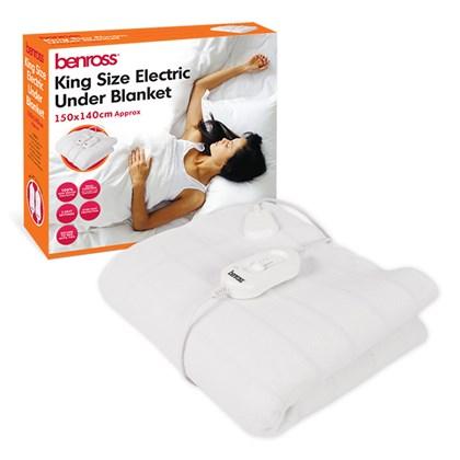 Kingsize Elec Blanket-3 heat - 140x150cm