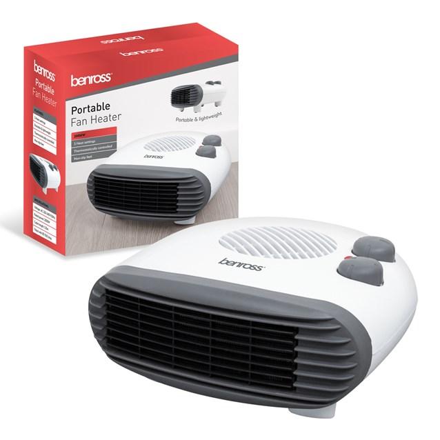 2kw Horizontal Fan Heater