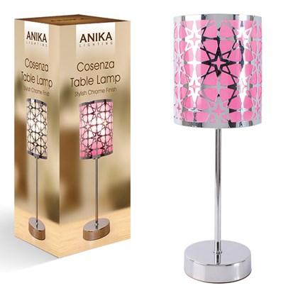 Table Lamp - Pink Shade