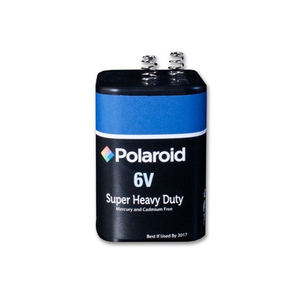 6 volt  Polaroid Heavy Duty Battery