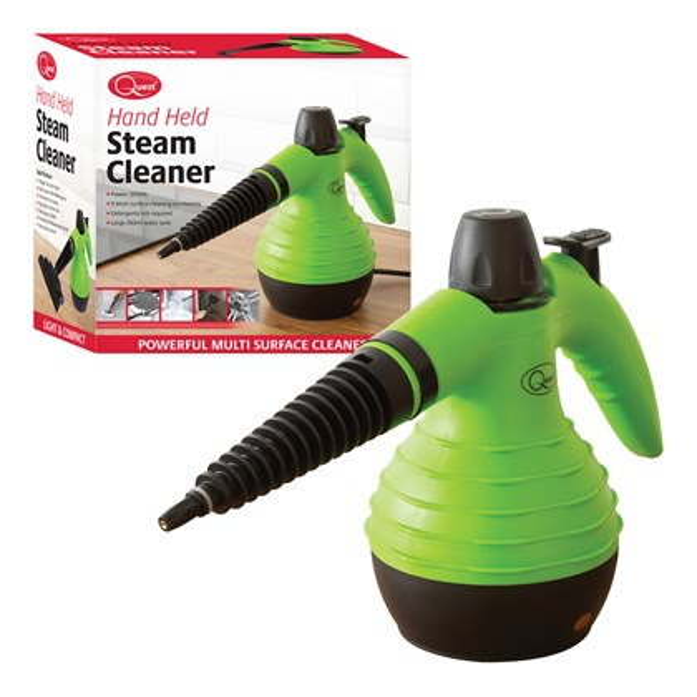 Handheld Steam Cleaner - 350ml - Green