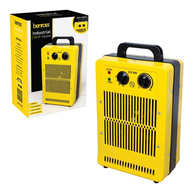 2.8kw Industrial Fan Heater - Waterproof