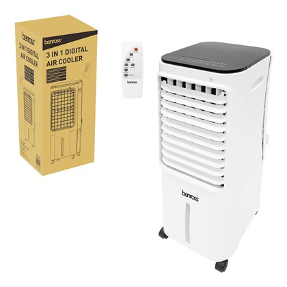 3 in 1 Digital Air Cooler with Remote Control 12L