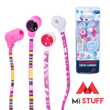 Earphone With Printed Cable