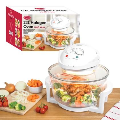 12L Halogen Oven - White
