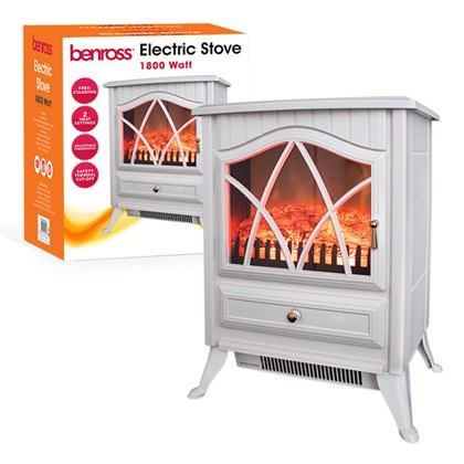 Cast Iron Effect Electric Stove