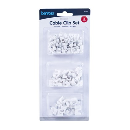 100pcs Cable Clips