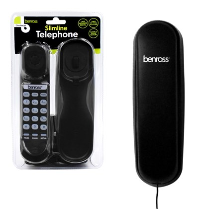 Slimtalk Telephone - Black