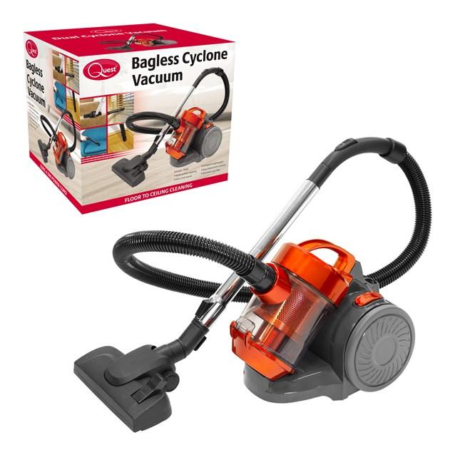 Compact Bagless Cyclonic Vacuum
