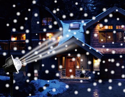 Outdoor LED Snowfall Projector
