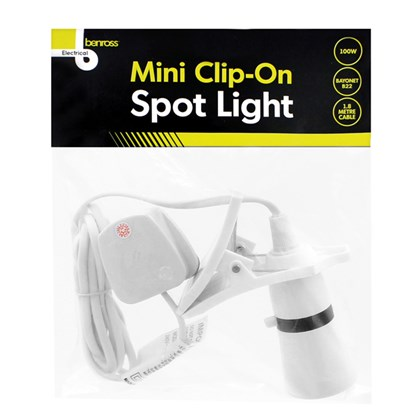 Mini Clip-On Spot Light