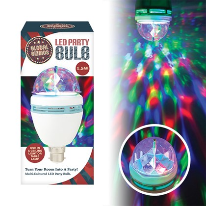 1.5w Disco Light Bulb