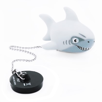 Light Up Shark Bath Plug