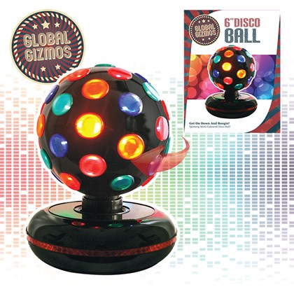 "6"" Disco Ball - Black"