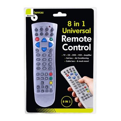8-in-1 Remote Control