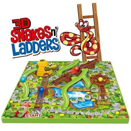 3D Snakes & Ladders