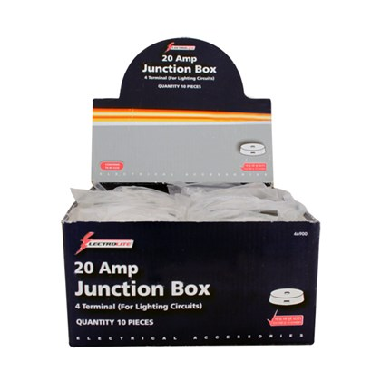 20A 4 Terminal Junction Box