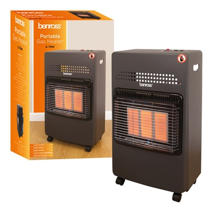 Gas Cab Heater with Reg & Pipe