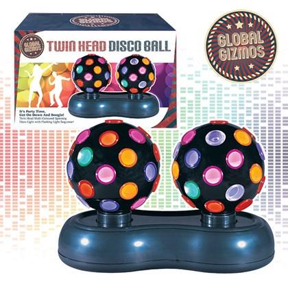 Twin Disco Ball Light