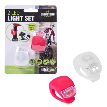 2pc Silicon Bike Lights