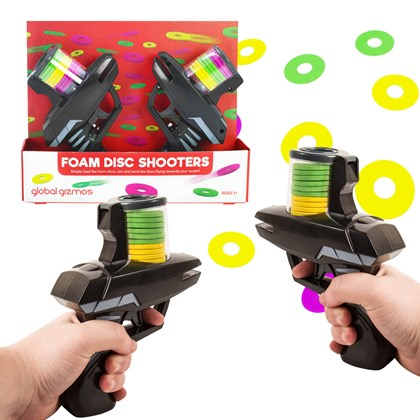 Twin Disk Shooter