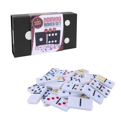 Double Six Dominoes In Box