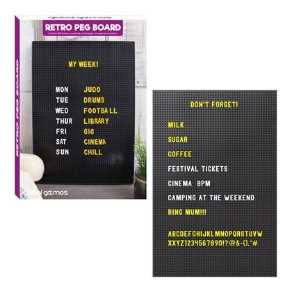 Retro Peg Board