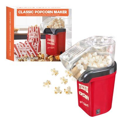 Party Popcorn Maker - Includes 4 Popcorn Bags!
