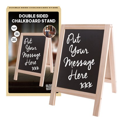 Double Sided Chalkboard Stand