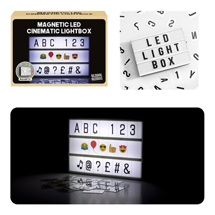 A6 Cinematic Lightbox - Magnetic