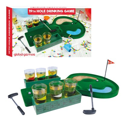 The 19th Hole - Drinks Game