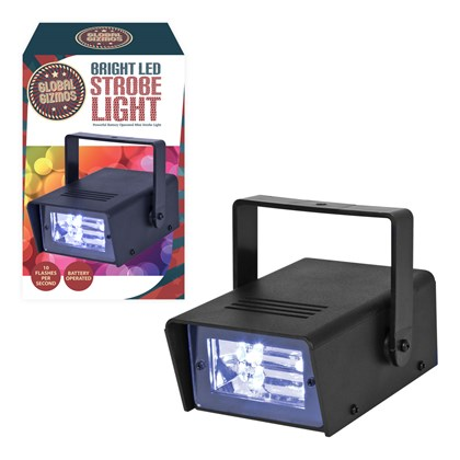 Mini LED Strobe - 2LED (Battery Operated)