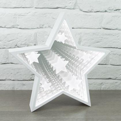 Star Infinity Light With Starburst Pattern