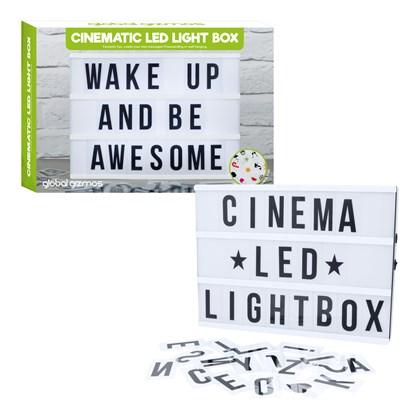 LED LightBox Cinematic B/O Req 6xAA (Not Inc.)