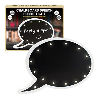 Chalkboard Marquee Speech Bubble