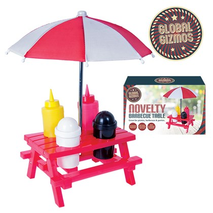 BBQ Sauce Set with Umbrella