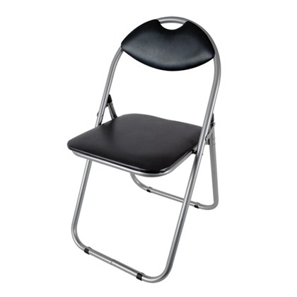 Black Paris Fold-up Chair