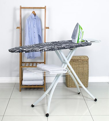 Ironing Board W/ Clothes Rack