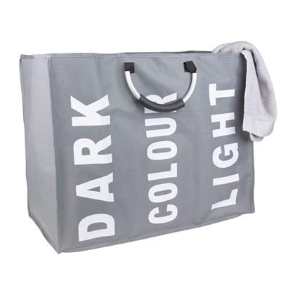 Triple Laundry Bag - Grey