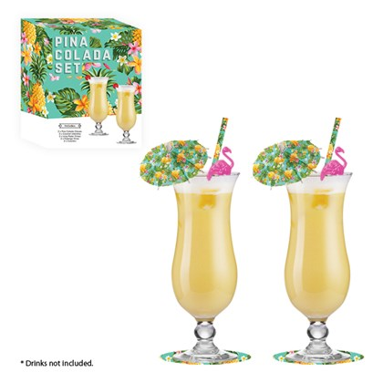Pina Colada Cocktail Gift Set
