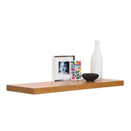 120cm Oak Effect Floating Shelf