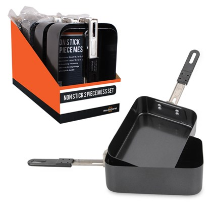 2PC Non-Stick Mess Set