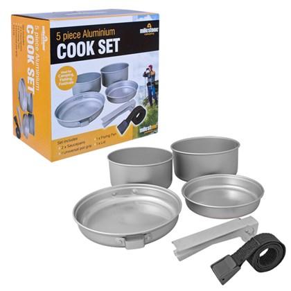 5PC Aluminium Cook Set