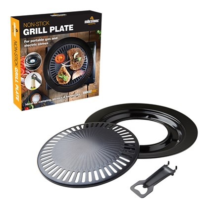 Non-Stick Grill Plate - Portable & Electric Stoves